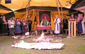 Åpningsgudstjenesten Samiske kirkedager 2004